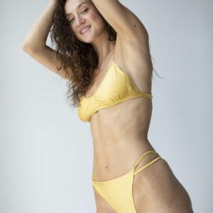 Triangel Bikini Top gelb