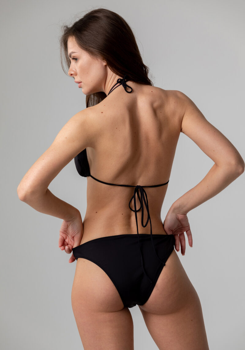 Bikini - Slip schwarz