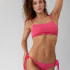 Bandeau Bikini Top pink