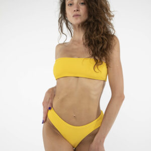 Bikinitop Bandeau Gelb