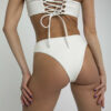 Bikinitop Bandeau weiß
